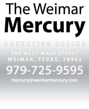 The Weimar Mercury, 200 W Main, Weimar, TX 78962
